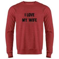 I Love It When My Wife Gets Me A Beer Funny Crewneck Sweatshirt for Men