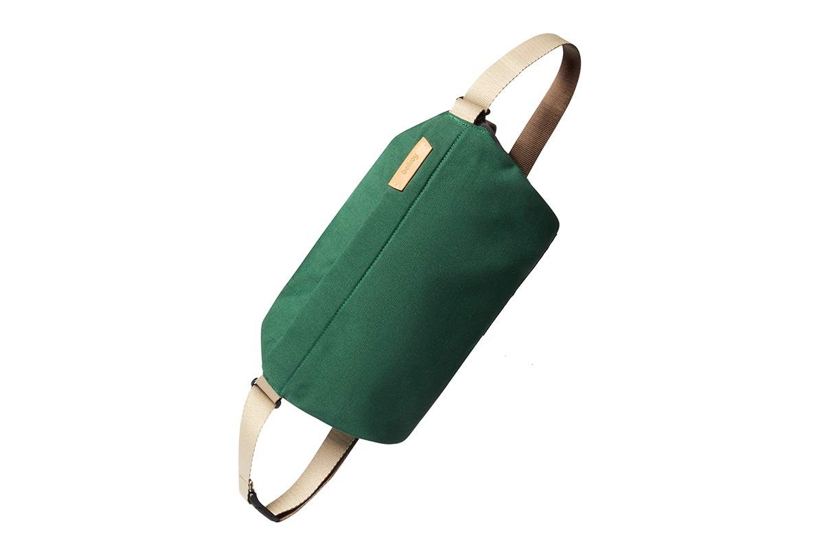 Bellroy Sling Bag, Unisex Compact Crossbody Bag, Water-resistant Materials - Forest