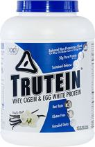 Body Nutrition Trutein Vanilla Bean 4lbs Protein Shakes/Shake, Meal Replacement Drink Mix, Post/Pre Workout Shake Powder.