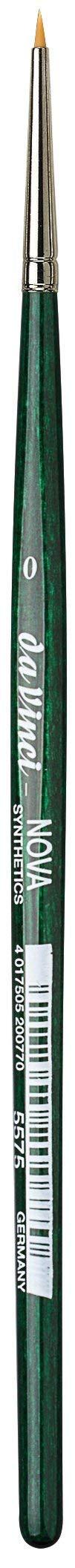 da Vinci Series 5575 Nova Miniature Retouch Synthetic Paintbrush, Size 00 (5575-00)