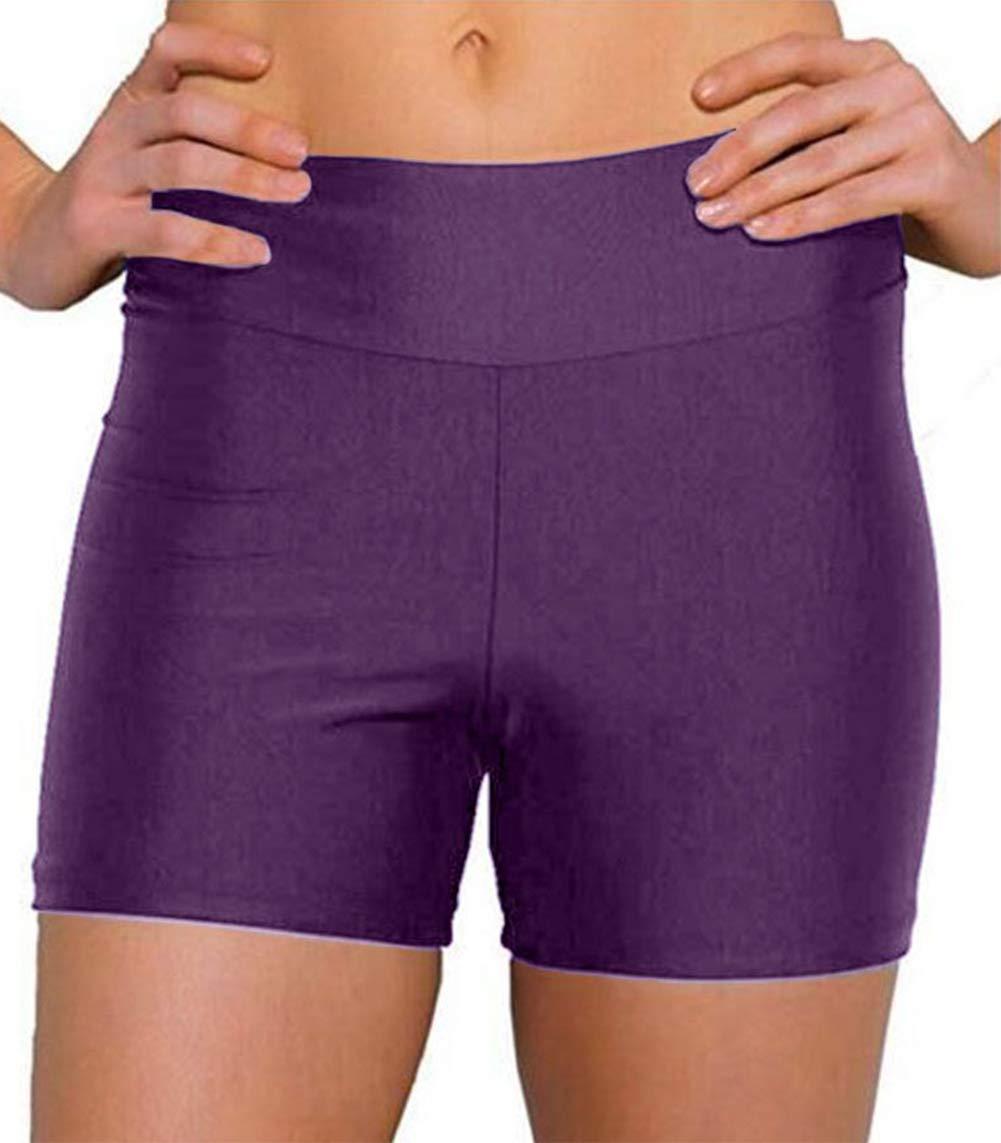 ebuddy Women Summer Swimwear Tummy Tuk Swim Bottom Shorts