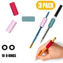 Galagee Pen or Pencil Weights Kit - Handwriting Aid for Children, Elderly or Special Needs - Assists The Individuals with Dyspraxia, Autism, ADHD, Tremors, Sensory Integration Issues (3 Pack)