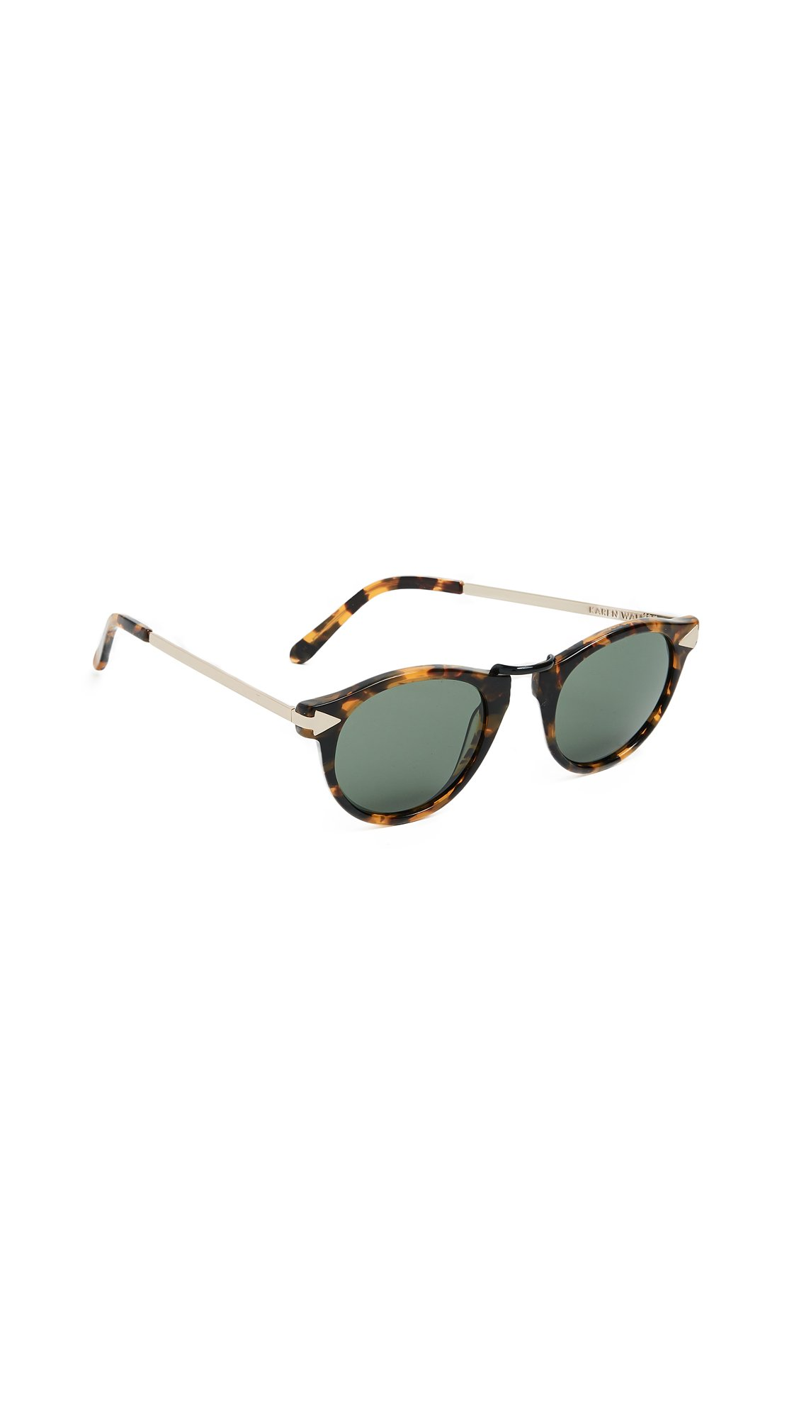 Karen Walker Women's Helter Skelter Sunglasses