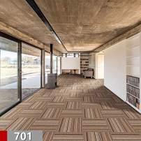 Commercial Carpet Tiles Stick Rug for Office Hotel Meeting Room Living Room Decor with Non-Slip Asphalt Bottom Backing Free Tapes 20x20inch,701 Color,24tiles