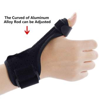 Velpeau Wrist Brace with Thumb Spica Splint for De Quervains Tenosynovitis Sprains /& Fracture Forearm Support Cast Arthritis Carpal Tunnel Pain Regular, Left Hand -M Stabilizer for Tendonitis