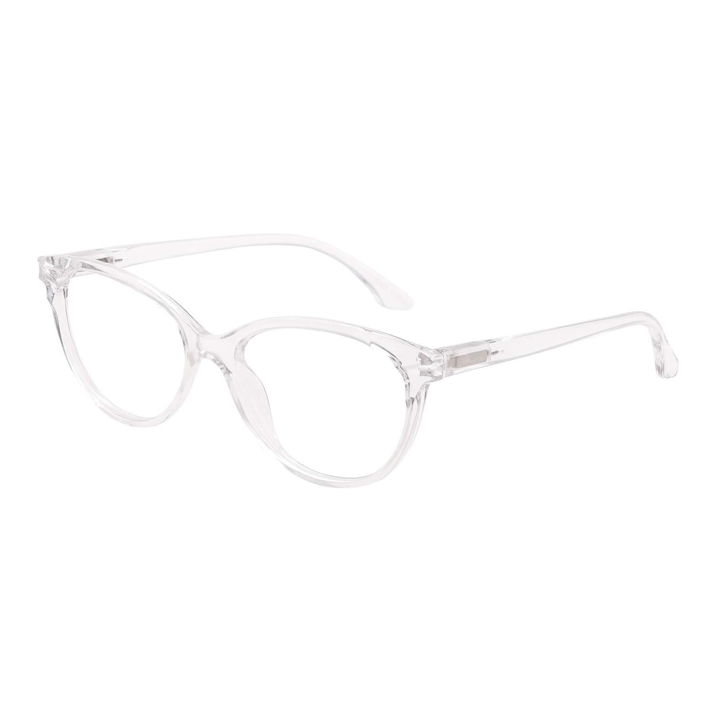 MARE AZZURO Reading Glasses Women Round Reader 0 1.0 1.5 2.0 2.5 3.0 3.5 4.0 5.0 6.0