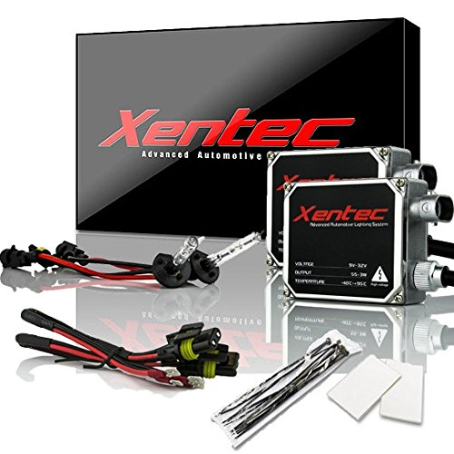 XENTEC 55W Standard Size Ballasts x 2 bundle with 2 x Xenon Bulb H1 6000K (Ultra White) offroad