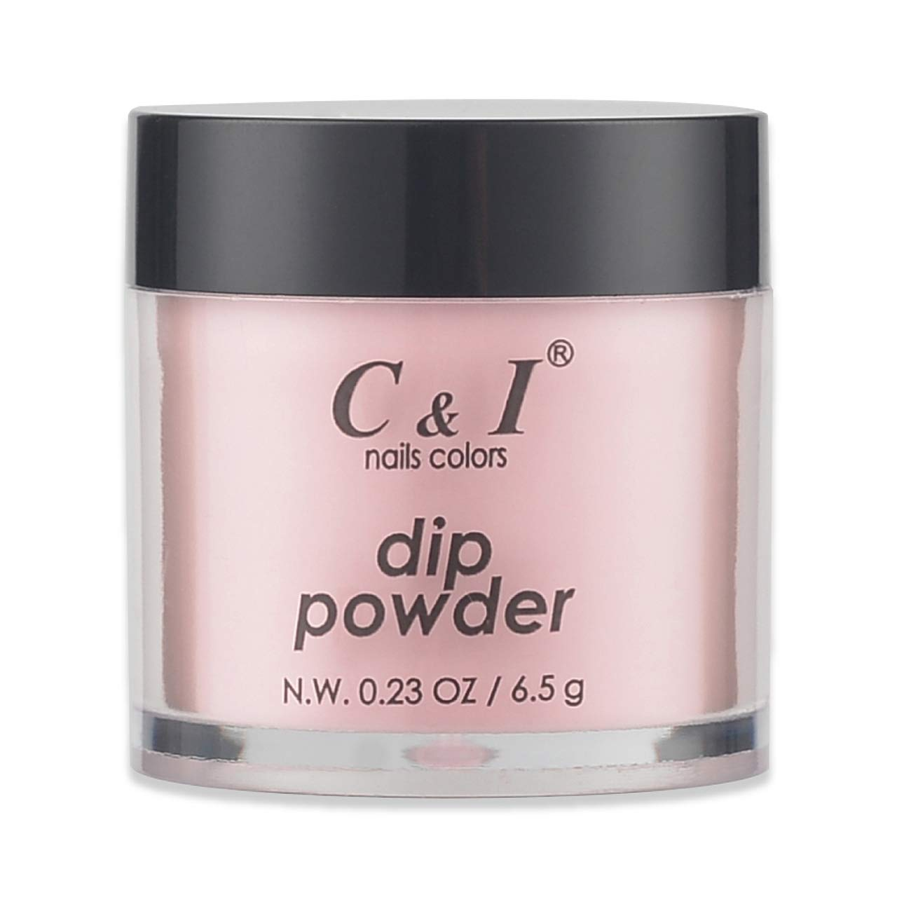 C & I Dipping Powder, Nail Colors, Gel Effect, Color # 8 Salmon, 0.23 oz, 6.5 g, naked color system (4 pcs)
