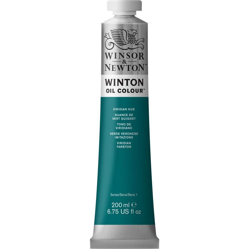 Winsor & Newton Winton Oil Colour Paint, 200ml tube, Viridian Hue