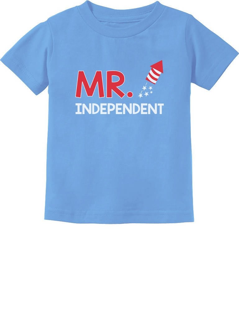 Mr. Independent Firecracker 4th of July Boys Toddler Infant Kids T-Shirt
