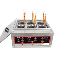 Techtongda Commercial 6 Holes Noodles Cooker Machine Electric Pasta Cooking Machine Pasta Maker 220V