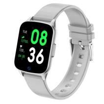 LIGE Smart Watch with Heart Rate Monitor Smart Bracelet IP68 Waterproof Step Tracker Calorie Counter Fitness Tracker Watch for Men Women Kids