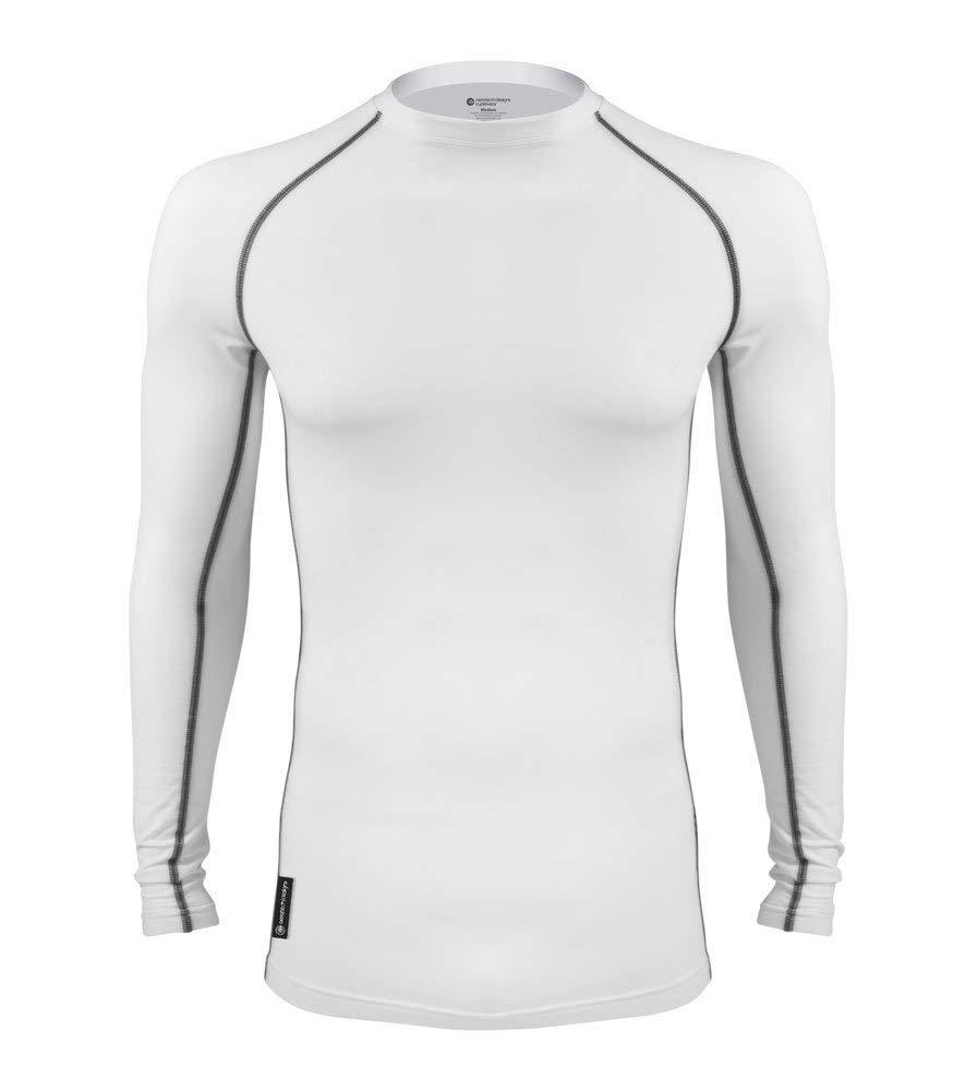 AERO|TECH|DESIGNS Toasty Long Sleeve Fleece Compression Shirt