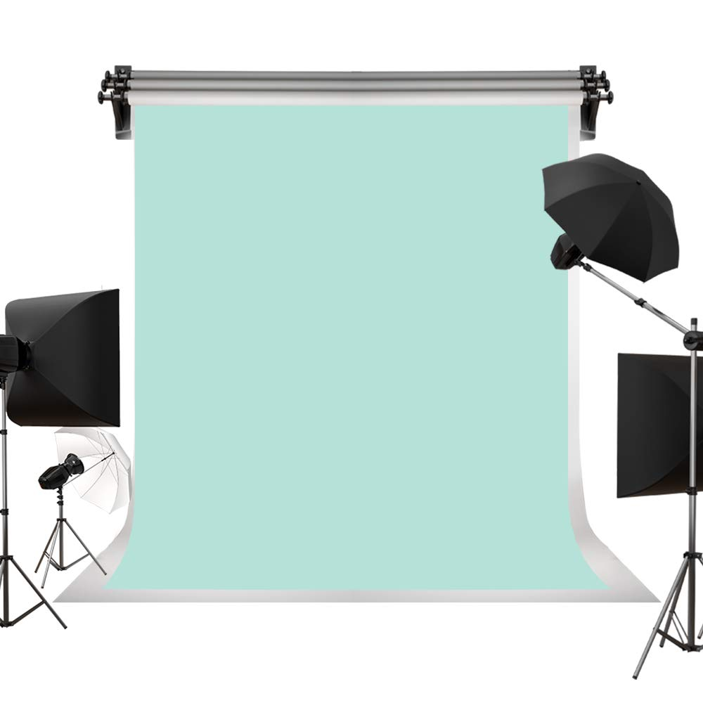 Kate 6.5x10ft/2m(W) x3m(H) Large Mint Green Backdrops Light Green Abstract Background Portrait Photography Studio Props