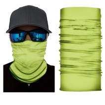 RAGEMALL Seamless Face Mask Bandanas for Dust, Outdoors, Festivals, Sports
