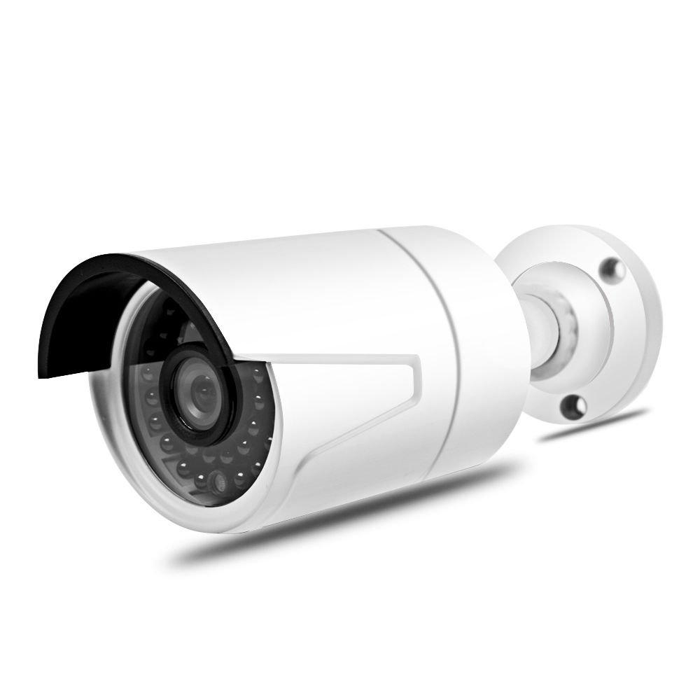 Seculink 5MP POE IP Camera 3.6mm Lens HD ONVIF Bullet IR-Cut Night Vision Motion Detection Alarm Indoor Outdoor IP66 Waterproof CCTV Video Surveillance