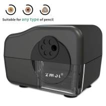 Electric Pencil Sharpener Heavy Duty,MultiPoint Pencil Sharpener Plug in for 6,7,8,9,10 & 11mm Pencils,Suitable for School/Classroom/Office/Home,Auto Stop,Fast Sharpen,Big Primary Pencils