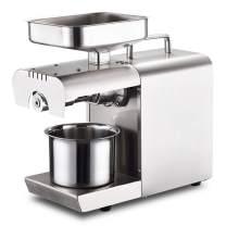 BAOSHISHAN Household Oil Press Machine Small Oil Presser for Pressing Peanut Sesame Rapeseed Walnut Oil Cold Press Machine 110V