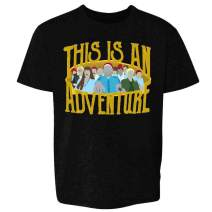 This is an Adventure Minimalist Toddler Kids Girl Boy T-Shirt