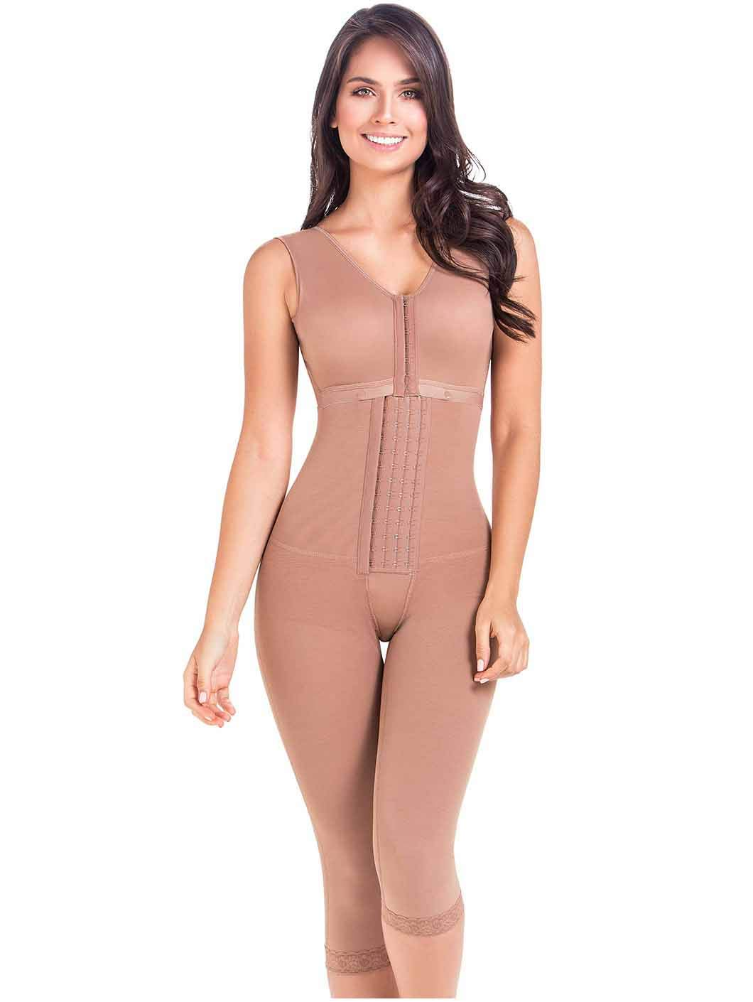 MARIAE 9262 Fajas Colombianas Reductoras Full Body Shaper Postoperative Girdles
