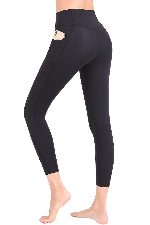 FANDIMU Womens Compression Pants Yoga Leggings with Pocket