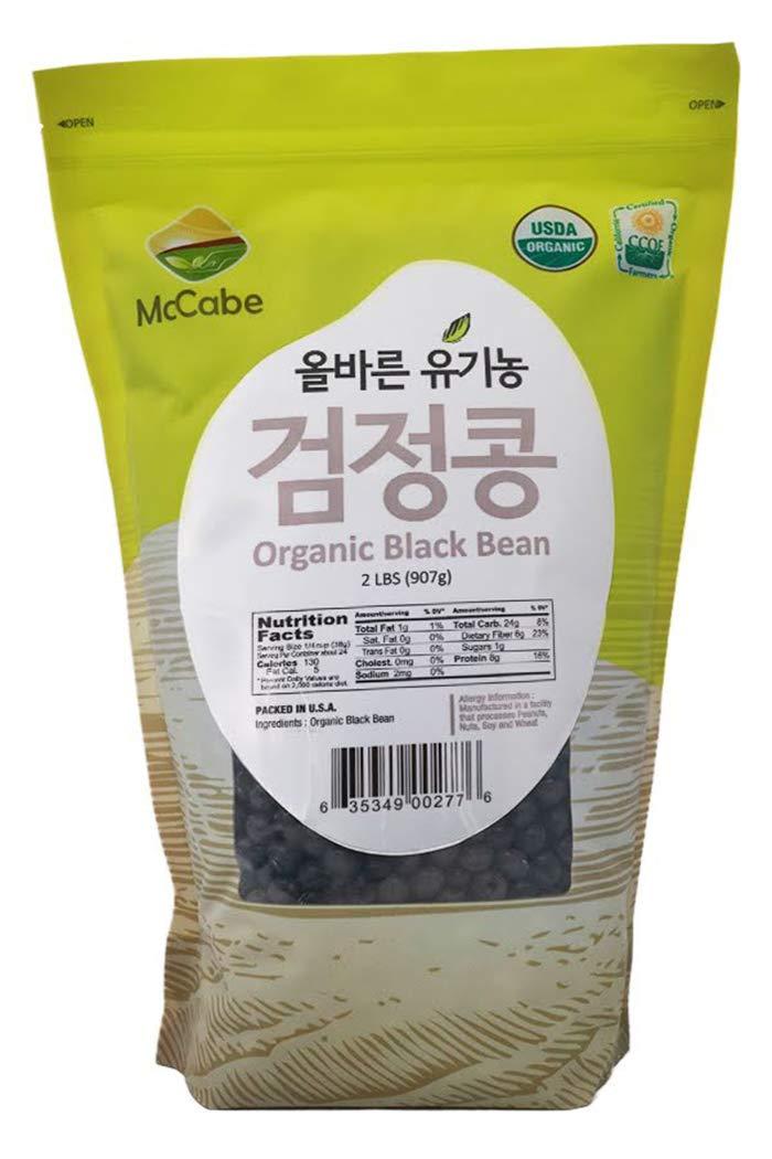 McCabe Organic Black Bean w/Yellow, 2 lb (32 oz)
