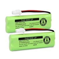 QTKJ BT183482 BT283482 2.4V Battery for Cordless Phones Vtech DS6401 DS6421 DS6422 DS6472 LS6405 LS6425 LS6425-3 LS6426 LS6475 LS6475-3 LS6476 89-1348-01 Handsets (2-Pack)
