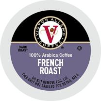 French Roast for K-Cup Keurig 2.0 Brewers, 42 Count, Victor Allen's Coffee Dark Roast Single Serve Coffee Pods