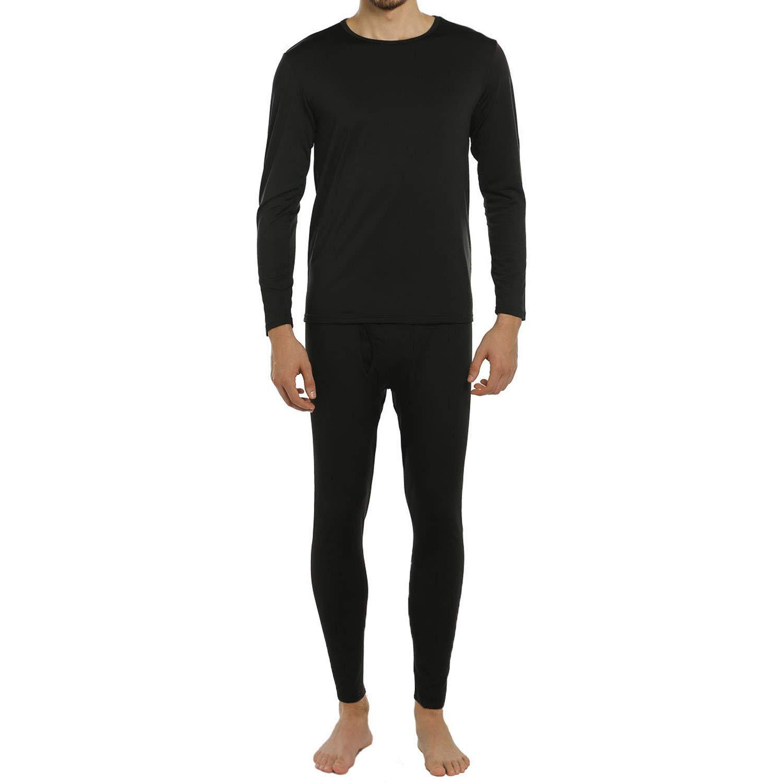 ViCherub Men's Thermal Underwear Set Fleece Lined Long Johns Winter Base Layer Top & Bottom Sets for Men