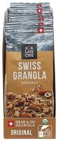 Avalanche Organic Original Swiss Granola, 1.76 Ounce Bag (Pack of 6) Organic, Non-GMO, All Natural, Kosher, Portable Packet of Granola, Convenient Size Snack On The Go, Can Pour in Milk or Yogurt