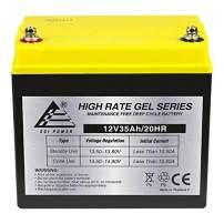 ExpertPower 12V 35AH Gel Battery Replaces UPS Backup Interstate DCM0035L