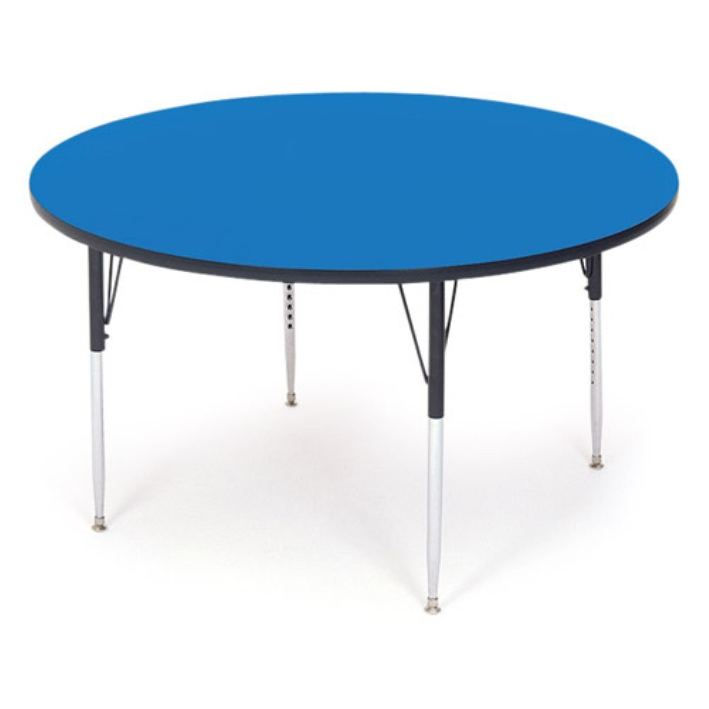 """Correll Top Activity Table, 36"""" Round, Blue"""