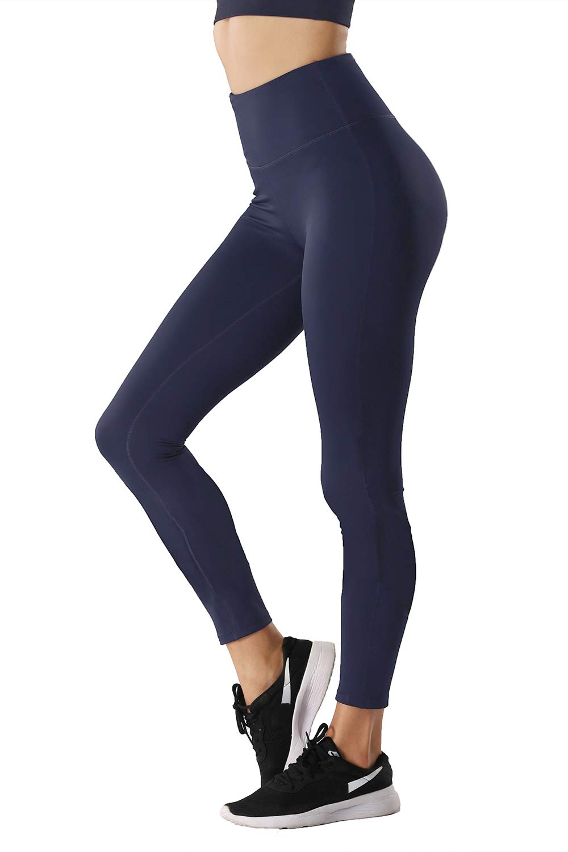 TYUIO Womens Workout Leggings High Waist Yoga Running Capris Pants Hidden Pocket