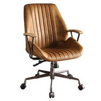 Acme Hamilton Top Grain Leather Office Chair in Coffee Leather