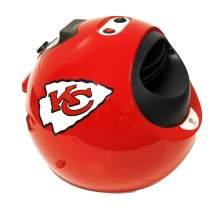 Helmet Heater CLKCCHIEFS NFL Kansas City Cheifs Portable Infrared Indoor Helmet Space Heater, 1, Red