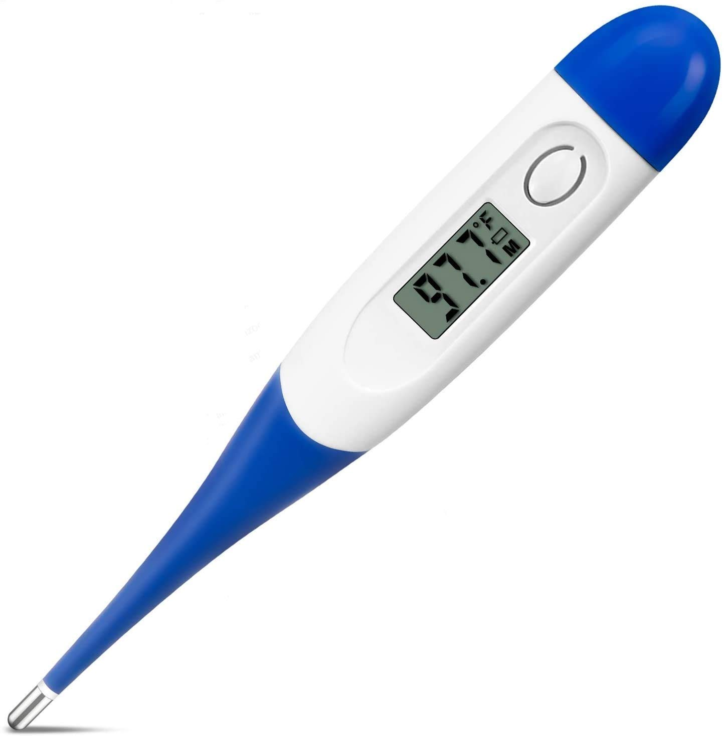 Digital Thermometer, Forehead, Rectal and Armpit Thermometer with 1 Sec Fast Reading, for Baby, Elders and Adults, Surface of Objects