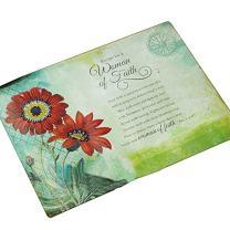 Abbey Gift Woman of Faith Cutting Board
