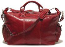 Floto Luggage Venezia Travel Tote, Tuscan Red, Large