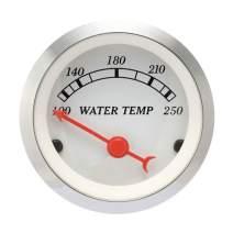 """MOTOR METER RACING Classic Instruments Electronic Water Temperature Gauge 2"""" Include Sensor"""