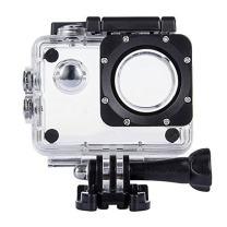 TEKCAM Waterproof Housing Case Cover Compatible with DBPOWER EX5000 Waterproof Action Camera 12MP / AKASO EK7000 EK5000 / ODRVM Professional Full HD Sports Camera Housing Case Underwater Shell