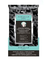 Danielle Detoxifying Charcoal Face Wipes, 60-Count