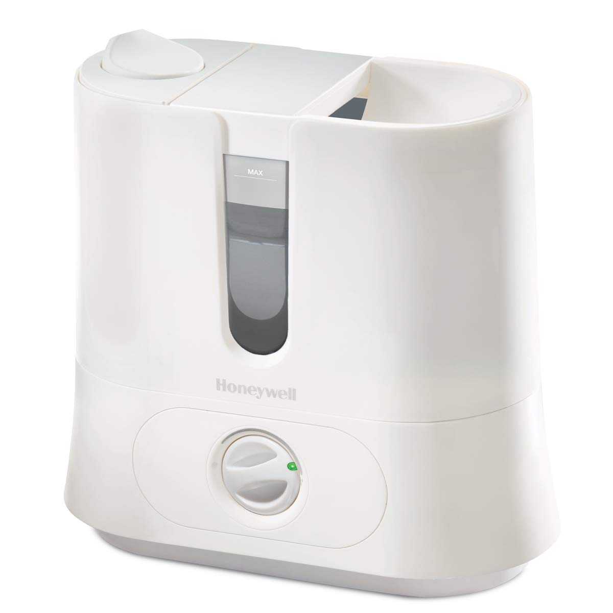 Honeywell Top Fill Cool Mist Humidifier White Ultra Quiet with Auto Shut-Off, Variable Settings, Removeable Tank & Rotating Mist Nozzle for Medium to Large Rooms, Bedroom, Baby Room
