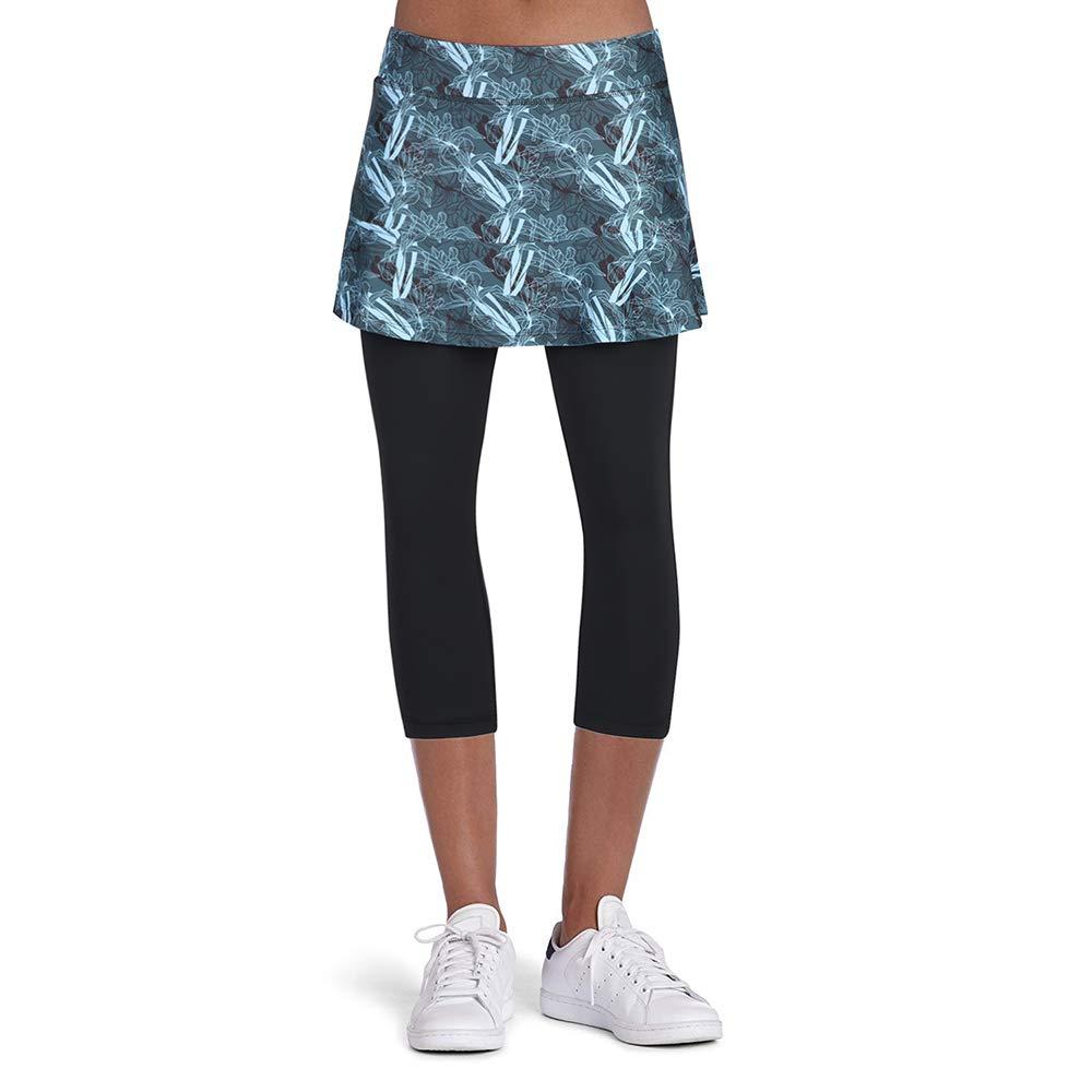ANIVIVO Skirted Legging for Women, Yoga Legging with Skirts &Women Tennis Leggings Clothes
