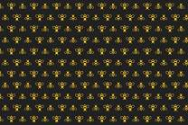 Baocicco 10x8ft Backdrop for Golden Yellow Little Bees Photography Background Black Backdrop Boys Girls Birthday Party Room Wallpaper Decor Children Kids Tea Party Baby Shower Decor Vinyl Props