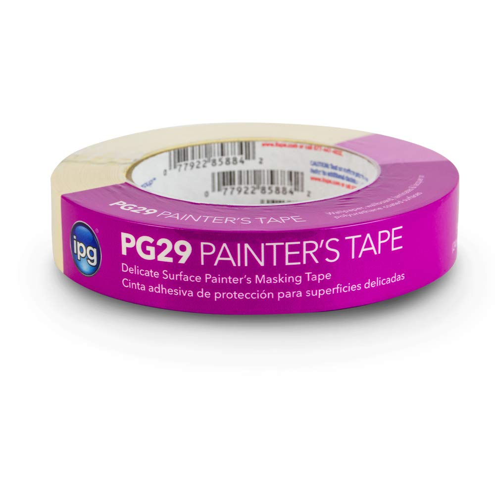 """IPG PG29-160 PG29 Delicate Surface Masking Tape, 0.94"""" x 60 yd, (Single Roll)"""