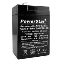 Battery Powerstar AGM 5-6 Sealed Lead Acid Batteries