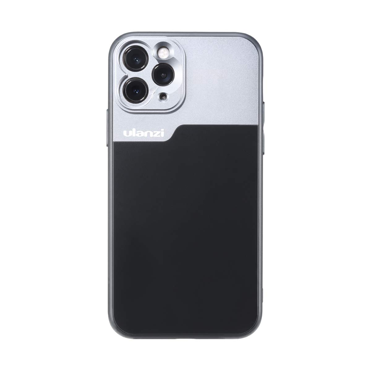 ULANZI Phone Case Support Extra Camera Lens (17mm Diameter) Protective Unique Design Shakeproof Solid Case Cover for iPhone 11 Pro Using 1.33X Anamorphic Lens Wide Angle Macro Lens DOF Adapter