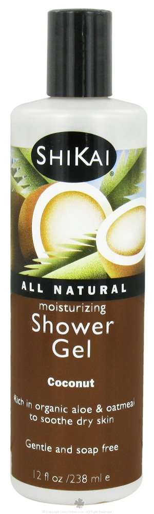SHIKAI SHOWER GEL COCONUT 12OZ
