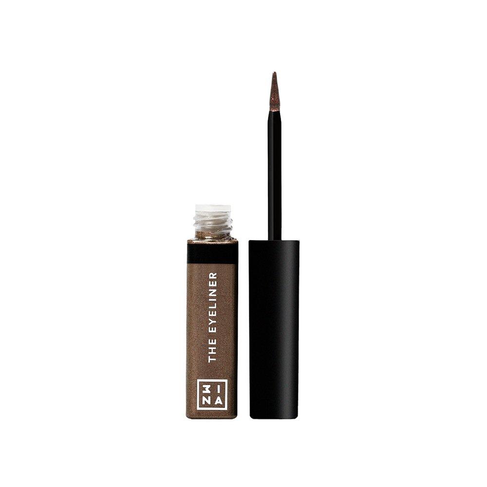 3INA Makeup Cruelty Free Paraben Free Vegan Color Eyeliner 4.5 ml - 507 Brown