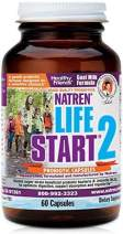 Natren Life Start Baby Probiotics - 60 Goat Milk Capsules - Designed for Sensitve Somachs and Infants, Kids, Toddlers and Expecting Mothers - for a Healthy Digestive and Gastrointestinal System - Bif